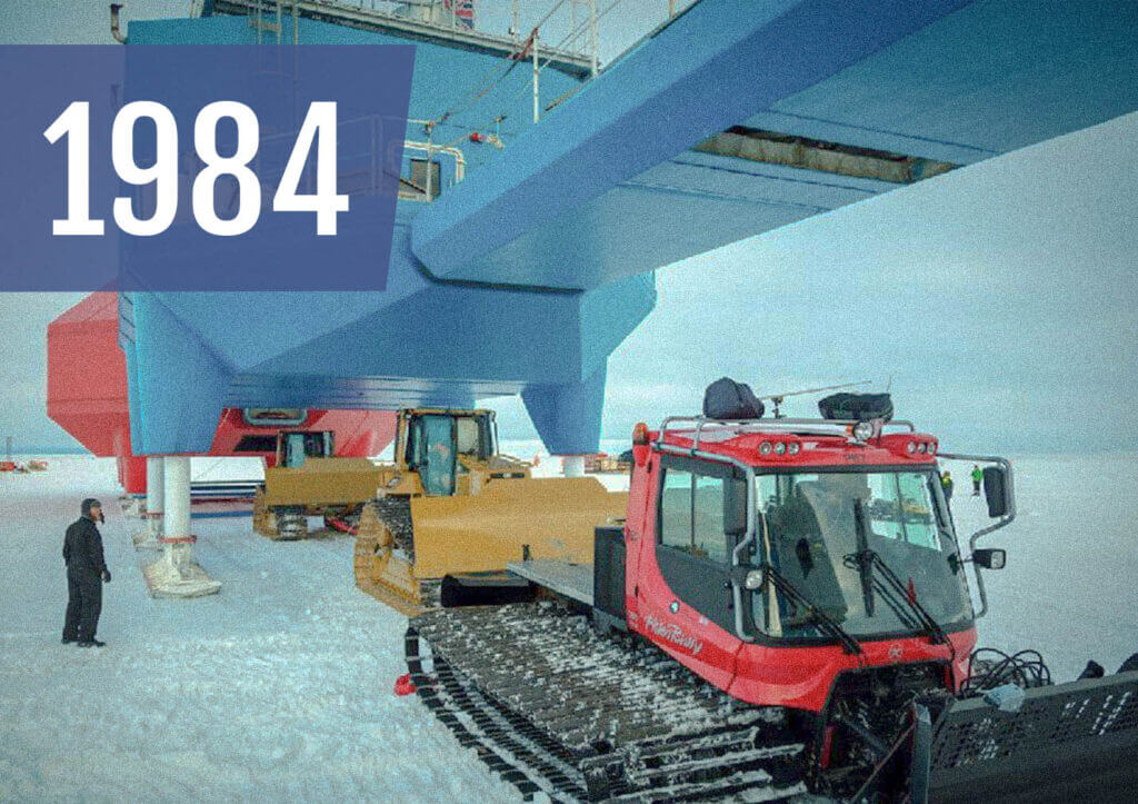 Wilmott Brochures Plant Services wins it's first major contract, providing maintenance services at Queens Medical Centre in Nottingham & for the British Antarctic Survey