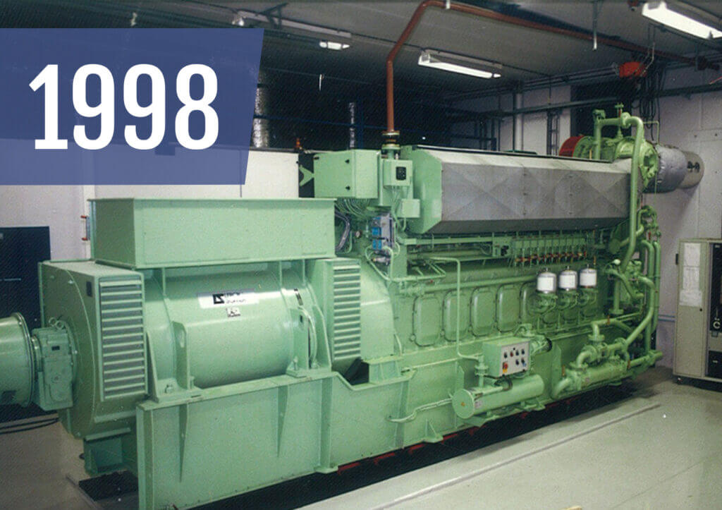 4 x 1000kw natural gas engines were shipped to Kazakhstan
