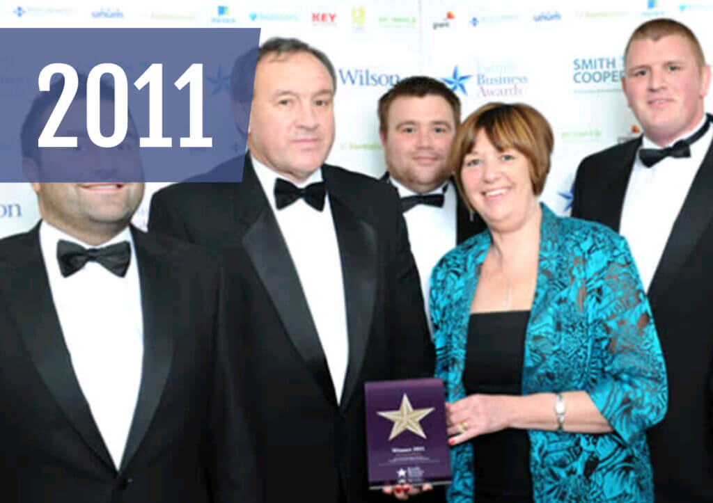 WB Power Services are awarded the 2011 East Midlands Family Business of the Year award. Chris Wilmott joins the board of directors as Logistics Director, and WB power welcome their first non-family member to the board, Danny Buttar as Technical Director.