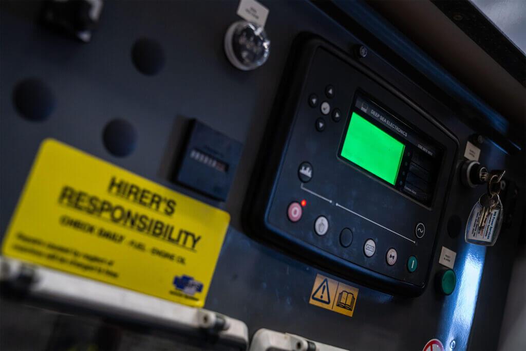 Deep Sea Electronics Utility Control Panel