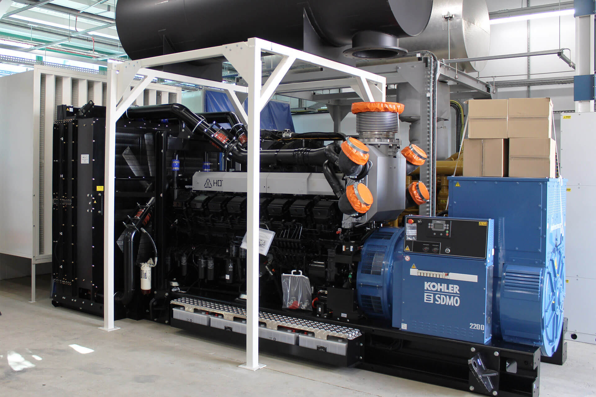 Generator Plant Room Installation