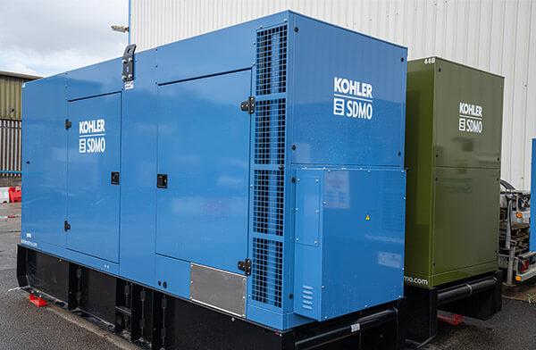 Data Centre Generator Installation