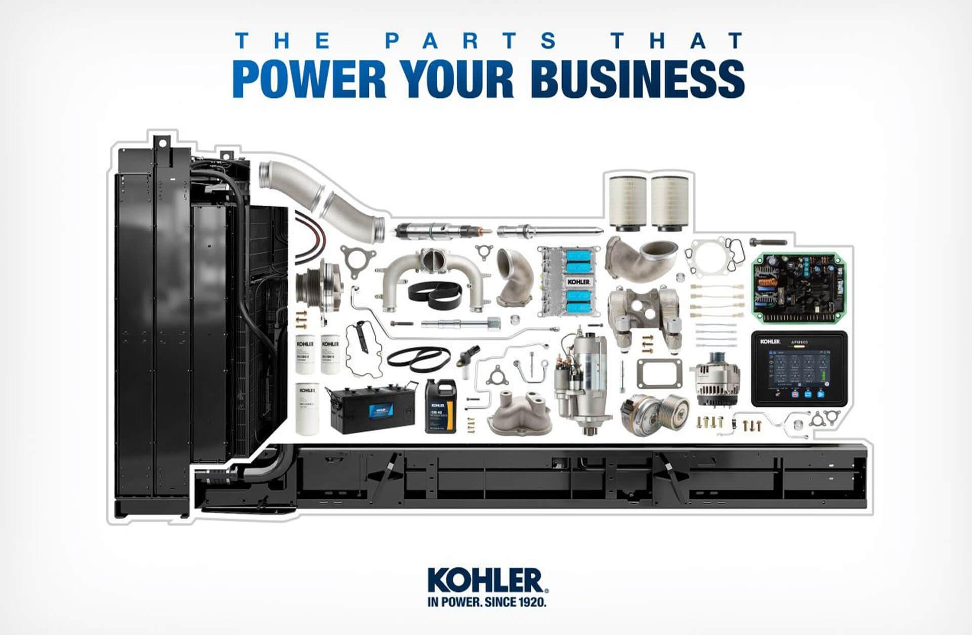 Kohler-SDMO Spare Parts