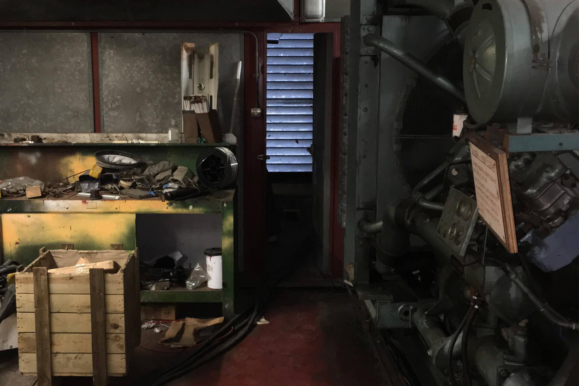 Generator Old Plant Room