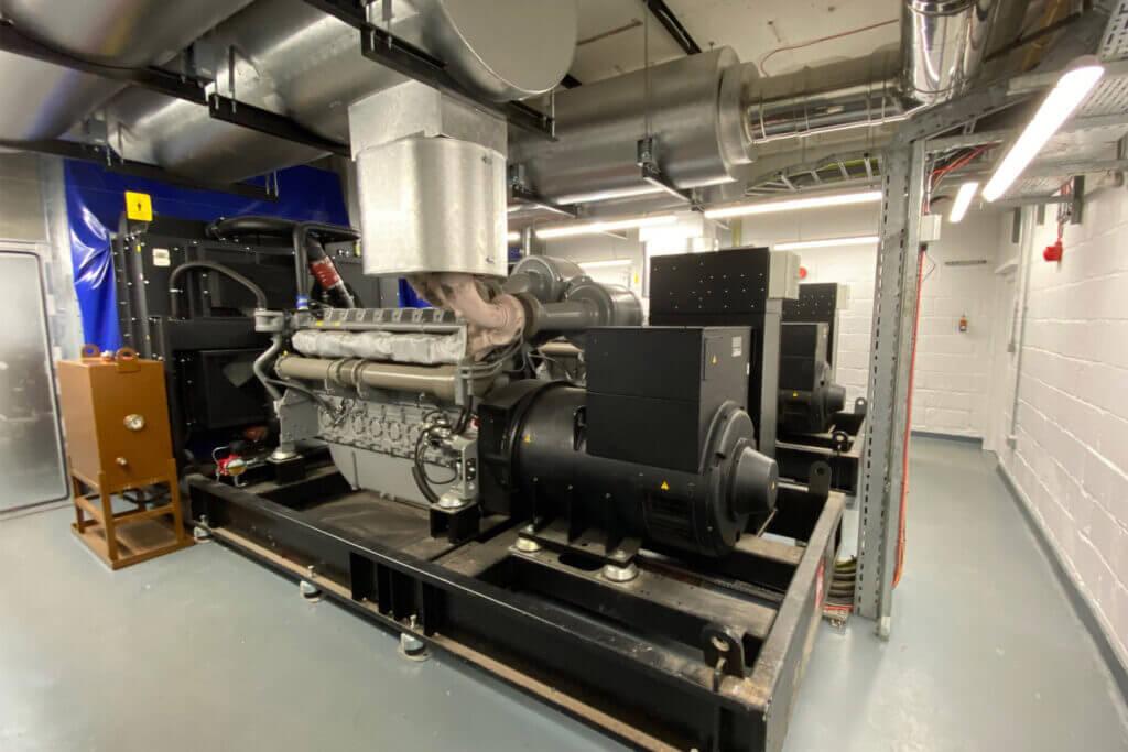 Diesel Generator Installation at South West London Hospital