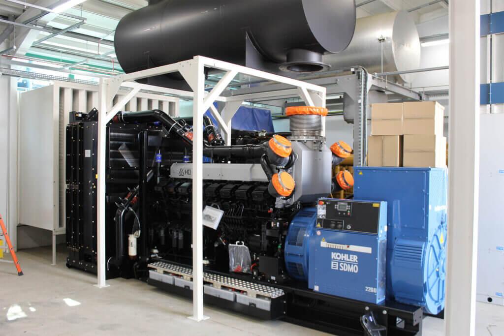 Kohler-SDMO generator in plant room