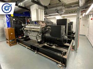 Generator Installation Plant Room