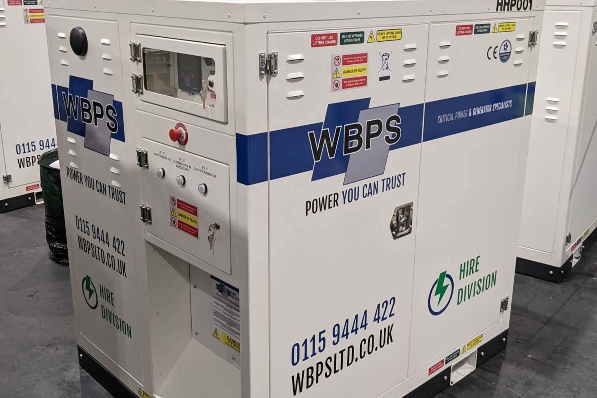 Hybrid Generator Hire