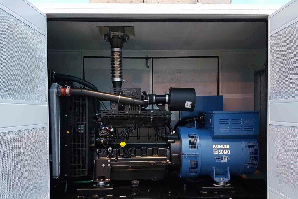 J220 Diesel Generator Installation at Southampton Docks