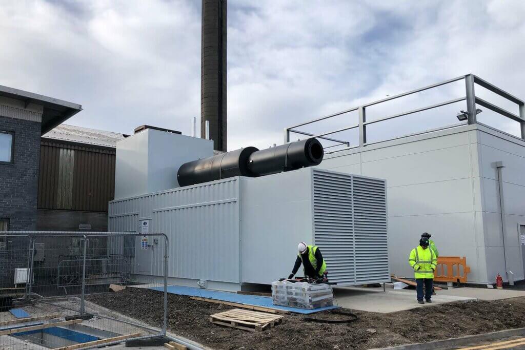 Prince Charles Hospital Generator Installation