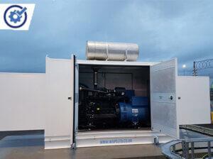 J220K Generator Installation at Southampton Docks